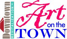 Art on the Town Event Logo
