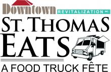 St. Thomas Eats: Food Truck Fete on Main Street logo
