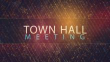 Town Hall Meeting Banner